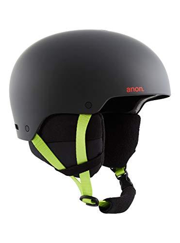 Anon Herren Raider 3 Snowboard Helm, Black Pop, Mittelgroß