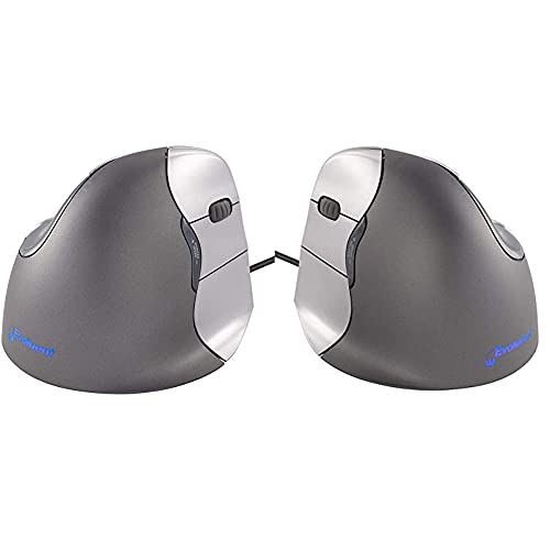 Evoluent Vertical Mouse 4 Maus für Rechtshänder & VM4L Vertikale Maus für LinksHänder
