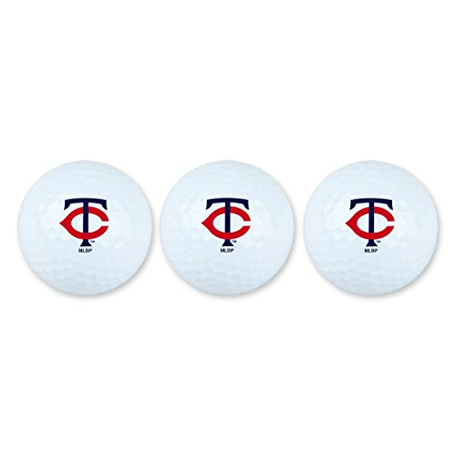 Best Buy! Team Effort Minnesota Twins Golf Ball Pack of 3
