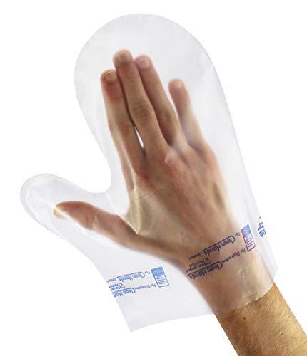 Papstar PE Fäustling Handschuhe ''Clean Hands'' (100 Stück)