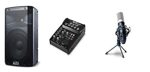 ALTO Professional TX210, ZMX52 + Marantz MPM-1000 - Altavoz Autoamplificado de 10