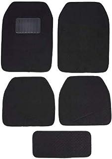 5 Pieces Carpet Car Floor Mat Black