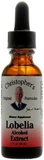 Dr Christopher's Formula Lobelia Alcohol Extract, 1 Fluid Ounce