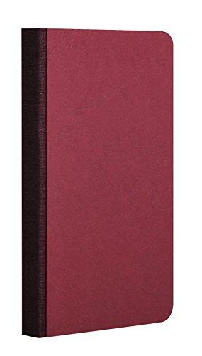Clairefontaine 795922C Heft (Leinen, Age Bag, kariert, 9 x 14 cm, 96 Blatt) 1 Stück rot