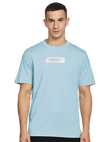 PUMA Nu-Tility tee Camiseta, Hombre, Aquamarine, M