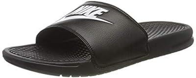 Nike Benassi JDI Men's Sandals Black/White 343880-090 (9 D(M) US)