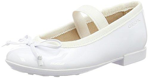 Geox Jr Plie' I, Ballerine Bambino, Bianco (White), 30 EU