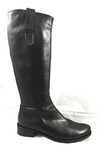 OTTO KERN 80349 Damen Stiefel Leder Schwarz Softvitello XS-Schaft (39 EU)