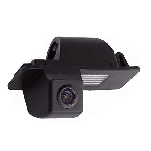 Rückfahrkamera Wasserdicht Nachtsicht Auto Rückansicht Kamera Einparkhilfe Rückfahrsystem, Schwarz für Chevrolet Aveo Cruze Trailblazer Opel Mokka Cadillac Cts SRX