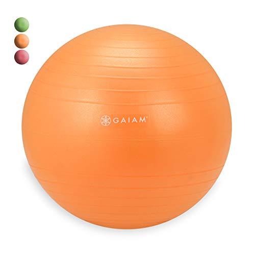 Gaiam Kids Balance Ball Chair Ball - Extra Balance Ball for Kids Balance Ball Chair, Orange, 38cm