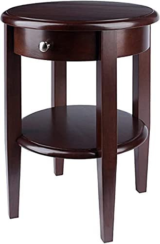Winsome Wood Concord Occasional Table Antique Walnut National uniform Many popular brands free shipping