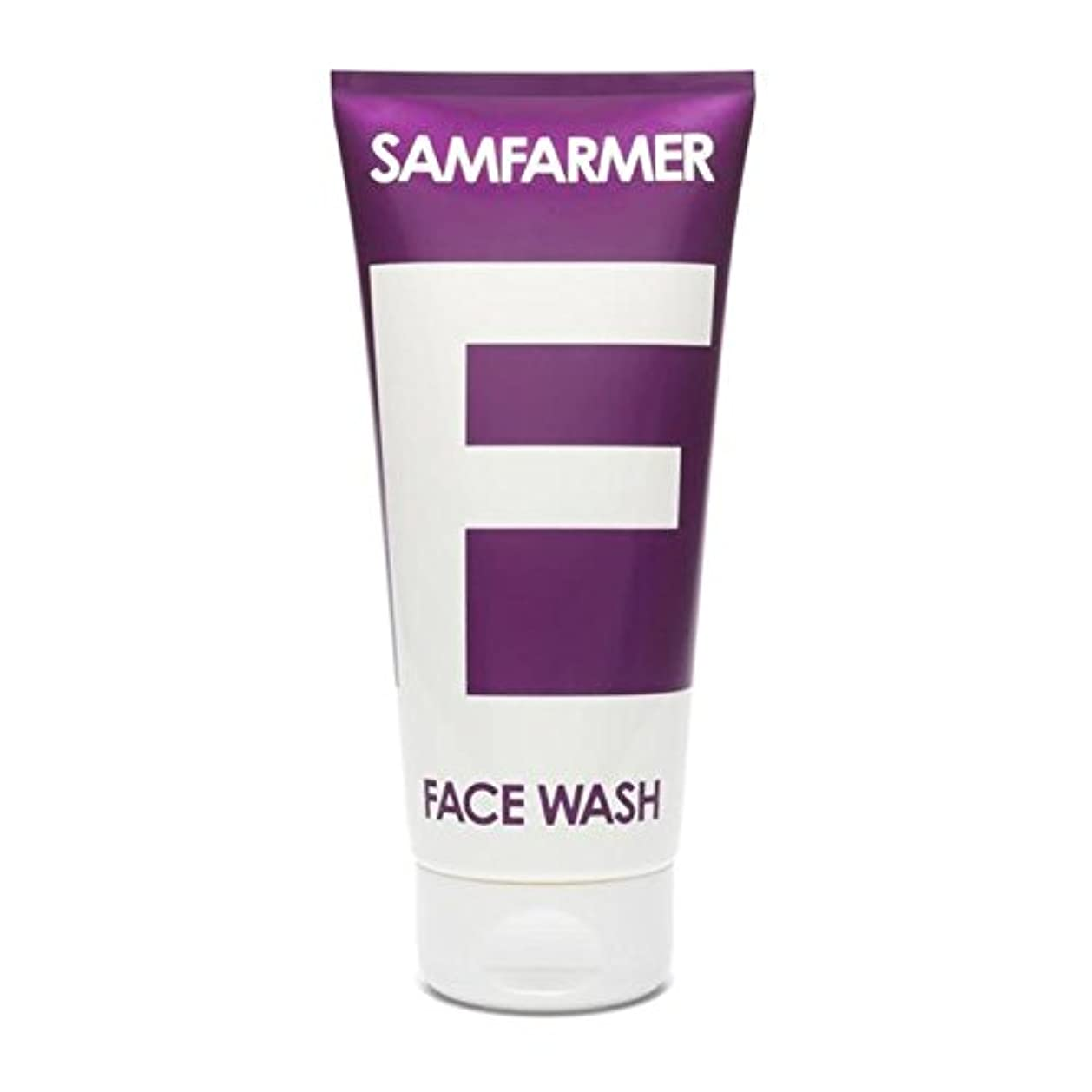変換する目覚める世辞ユニセックスフェイスウォッシュ200ミリリットル x4 - SAMFARMER Unisex Face Wash 200ml (Pack of 4) [並行輸入品]