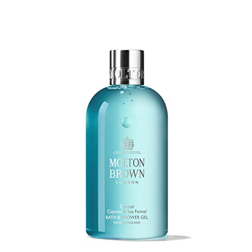 Molton Brown Coastal Cypress & Sea Fennel Bath & Shower Gel, 300 ml