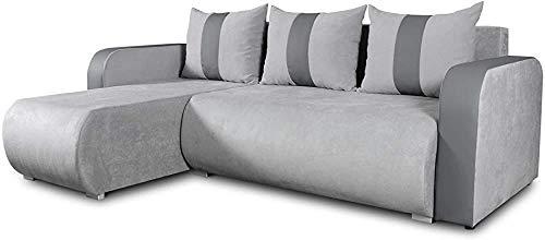 Sofá de esquina con función de sueño y caja fuerte, sofá en forma de L, esquina de cojín, conjunto de sofás, sofá de esquina, combinación de sofá,B