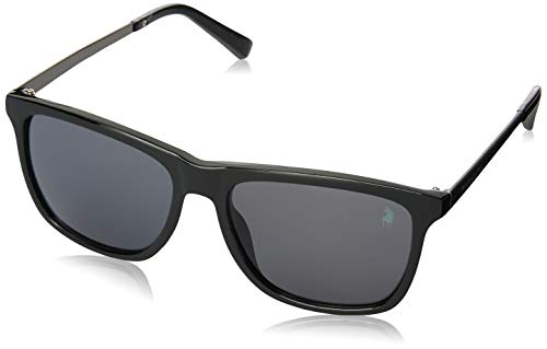 Óculos de Sol Polo London Club lente com Proteção UVA/UVB - Wayfarer Masculino Preto