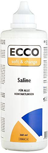 MPG&E ECCO Soft und Change Saline, 360 ml, 1er Pack (1 x 360 ml)