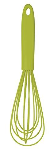 Colourworks MaxxGoods - Batidor de Varillas, Silicona, 23 cm de Largo, soporta hasta 260°C, Revestimiento antibacterias