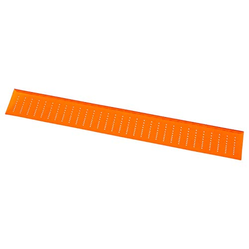 Drill Template, Orange, Length: 512 mm, Width: 64 mm