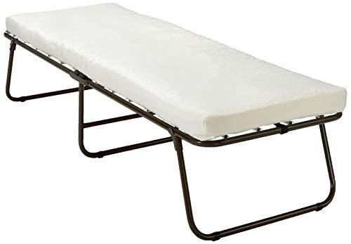 Zinus Single Folding Foam Guest Bed with Wheels