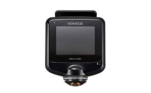 KENWOOD(ケンウッド) 前後左右360度撮影対応ドライブレコーダー DRV-C750 GPS 駐車監視録画対応 シガープラ...
