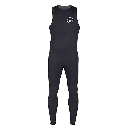 XCEL 2mm Axis Long John Wetsuit, Black, Medium