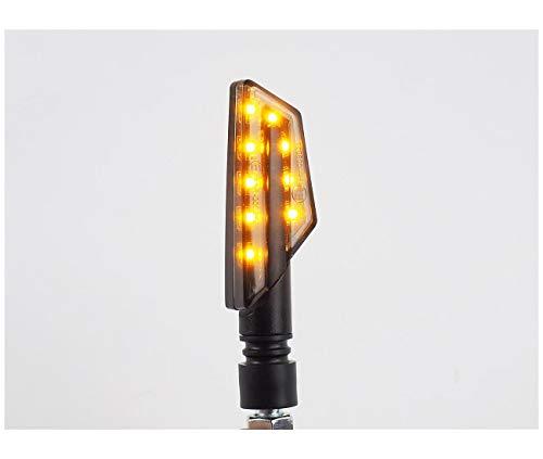 Compatible con pares de intermitentes Lightech LED ABS negro – 3212013
