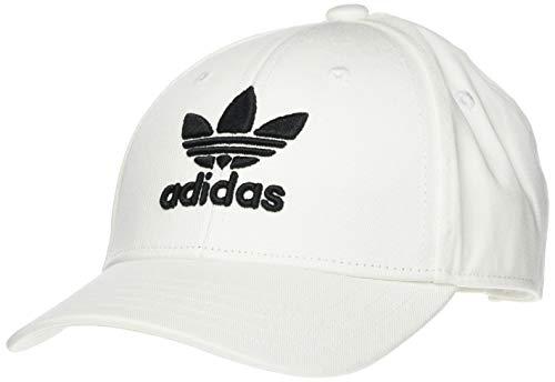 adidas Trefoil Baseball Aut Gorra, Unisex Adulto, Blanco (White/Black), OSFW