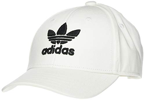 adidas Unisex-Child Baseb Class TRE Baseball Cap, White/Black, OSFY