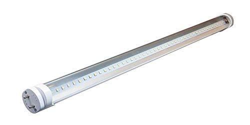 LEDVero 1x SMD Tubo/tubo LED fluorescente T8 G13 -Cover trasparente 90 cm, 14 W, 1400lumen- pronto per l'installazione, Colore Luce:bianco caldo
