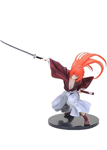 Anime Rurouni Kenshin Himura Kenshin PVC Action Figure Toy Brinquedos Figurals Collection Model Gift