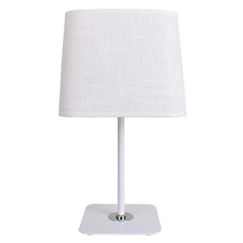 Hong Yi Fei-Shop Lámpara Escritorio Lámpara de Escritorio LED Sala de Estar Lámpara de Mesa de Tela for el hogar Lámpara de mesita de Noche for iluminación del hogar de la Oficina Lámparas Mesa