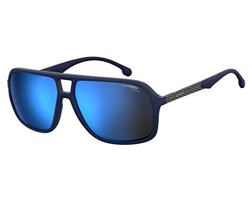 Carrera Sonnenbrillen (8035-S PJPXT) blau matt - grau bedruckt - grau - blau verspiegelt