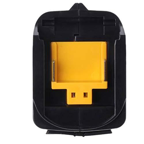 SHIZHI Convertidor de Adaptador de Carga de Potencia USB Completo Ajuste para Makita ADP05 BL1815 BL1830 BL1840 BL1850 1415 14.4-18V Batería de Iones de Litio (Color : Black)