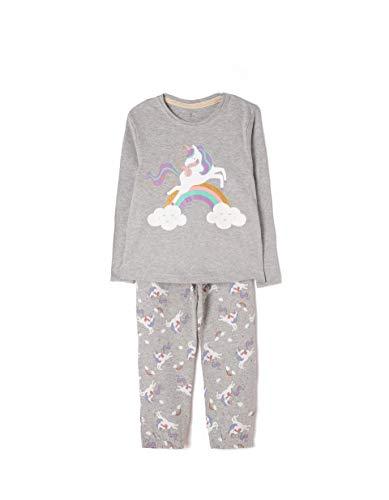 ZIPPY Unicornio Conjuntos de Pijama, Multicolor (Mixed 1158), 7 años (Tamaño...