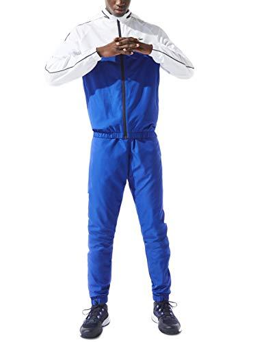 Lacoste Sport WH9563 Conjunto de chándal, Azul (Lazuli/Blanc-Marine), 3XL para Hombre