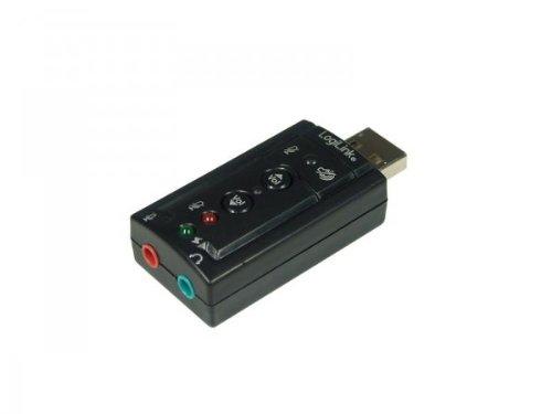 LogiLink Soundkarte USB 2.0 mit Virtual 7.1