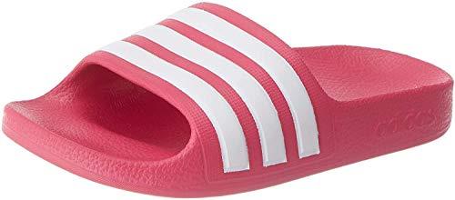 adidas Adilette Aqua, Sandalia Unisex Adulto, Rosa (Real Magenta/Footwear White/Real Magenta), 36 EU