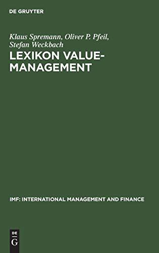 Lexikon Value-Management (IMF: International Management and Finance)
