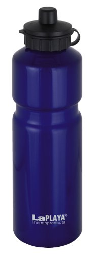 LaPlaya Thermoproducts Bidon sport 7 x 7 x 24 cm Bleu 0,75l