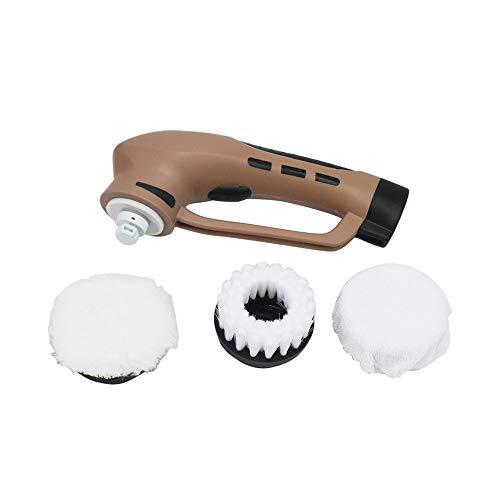YSYDE Pulidoras eléctricas para Calzado, Limpiador de Polvo con limpiabotas y cepillos...