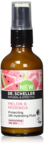 Dr. Scheller 55957 Dr. Scheller MELONE & MORINGA Schützendes Feuchtigkeitsfluid für ölige Haut, vegan, NATRUE-zertifiziert 50,