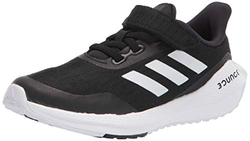 adidas Eq Run Elastic EQ Run - Elástico para niños, Color Negro, Talla 2.5 Little Kid