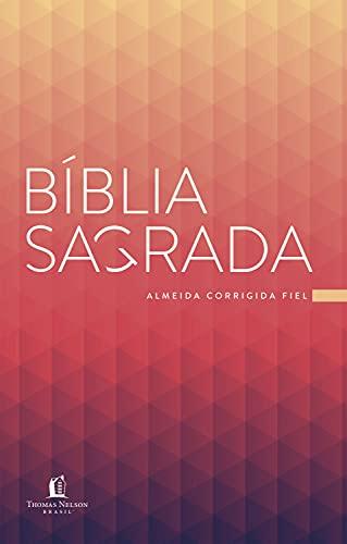 Bíblia ACF Prisma Coral, Brochura, Econômica