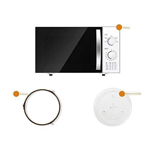 Horno Inteligente, hogar de Gran Capacidad de 23 l/calefacción de Placa giratoria de descongelación/Horno microondas Inteligente/Potencia de Salida de 800 W