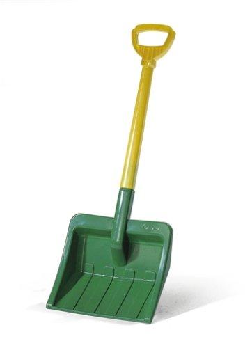 Rolly Toys 379491 - rollyShovel (Kunststoffschaufel, Kinderschaufel zweiteilig) grün/gelb