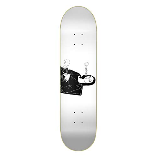 Emillion Skateboard Deck Art Smokin' Lisa 8.0