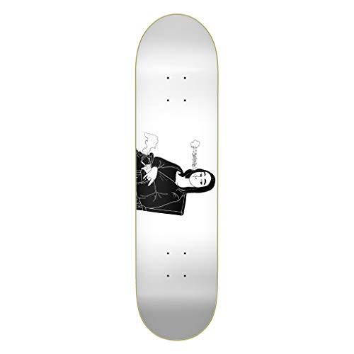 Emillion Skateboard Deck Art Smokin' Lisa 8.0