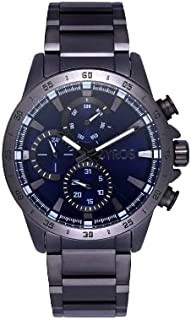 ZYROS Men's Watch Grey Dial Multi-Counter Small Dial Men's Luxury Classic Design Watch