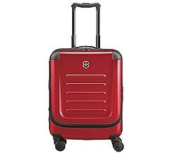 Victorinox Spectra 2.0 Dual Access Global Carry-On - Handgepäckkoffer Hartschale Trolley 20x38x55 - Rot