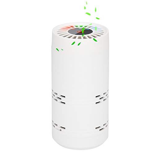 Tragbare Luftreiniger, BESTBOMG Ionisator Luftreiniger Air Purifier Anion, Pollen und Qualm befreien von Rauch, im Auto Toilette Raucherzimmer, perfekt für Allergiker und Raucher